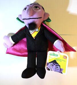 Details About Gund Sesame Street Count Von Count Beanbag Stuffed Animal 7 Nwt Rare Htf New