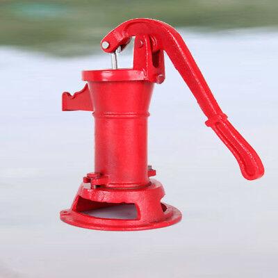 Heavy-duty Hand Pump Cast Iron Well Water Pitcher Press Suction Yard Ponds  Sink 723044280763   eBay