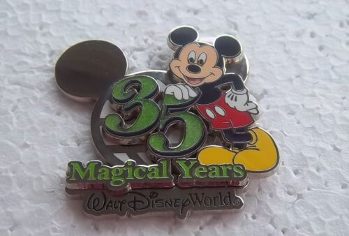 DISNEY WDW ANNIVERSARY 35 MAGICAL YEARS MICKEY 3D PIN