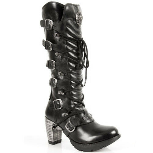 M Damenstiefel Gothic Boots Schuhe New tr004 s1 Rock Cwzn8A