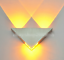 3W-Triangle-LED-Wall-Sconces-Light-Fixture-Bedroom-Hotel-Canteen-DIY-Wall-Lamp thumbnail 6