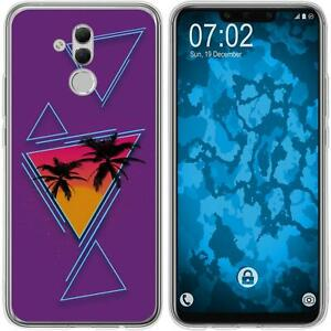 Huawei-Mate-20-Lite-Coque-en-Silicone-Retro-Wave-M3-Case-films-de-protection