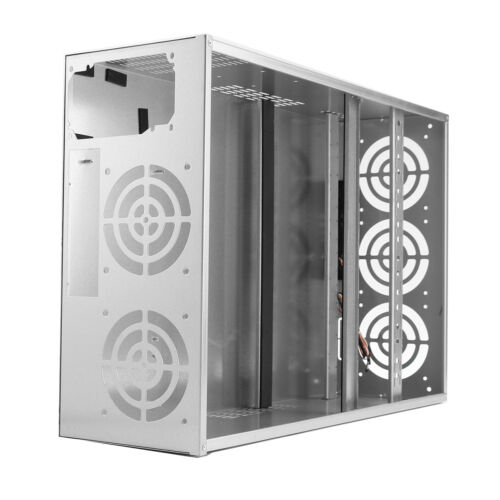 Crypto Coin Open Air Mining Frame Rig Graphics Case For 6-8 GPU ETH BTC Ethereum