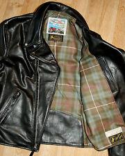 Aero D-Pocket Ridley, size 40, Black Vicenza Italian Horsehide Leather Jacket