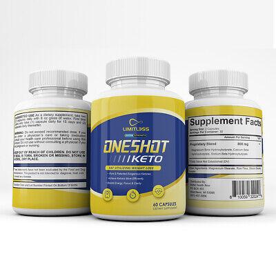 One Shot Keto- Advanced Keto Diet Supplement - BHB Ultra..