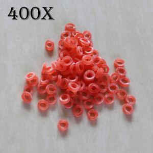 400pcs-Pesca-Nano-PELLET-bande-per-esche-2-12mm-Esca-Bande-Carp-Tackle-Rosso