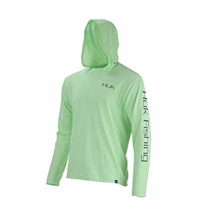 Marolina Outdoor Huk Icon Hoodie, color, Size, Key Lime, XXL   cheapest price