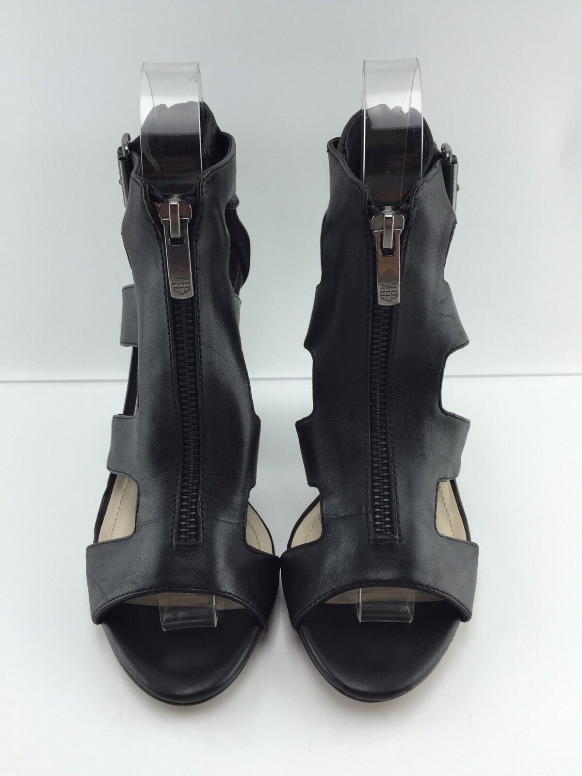 Vince Camuto Camuto Camuto Women's Black Leather Sandals 6 M e0b51c