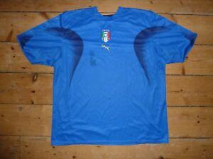 2000-07-XXL-Italia-Camiseta-de-Futbol-Camiseta-Maillot-Maglla-Camiseta-Italia