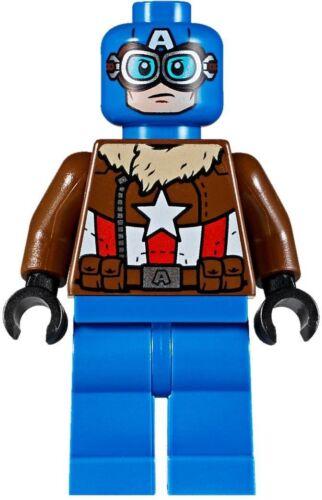 LEGO Marvel Super Heroes Pilot Captain America Minifigure 76076 new