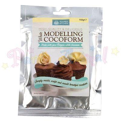 Squires Kitchen COCOFORM Belgian Chocolate Modelling Paste Sugarcraft Cake