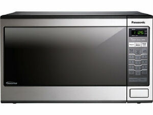 Panasonic Nn Sn671s Family Size 1 2 Cu Ft Countertop