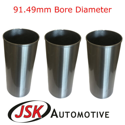 91.49 mm Cylindre Liners Perkins AD3.152 A3.152 Fordson Super Dexta Piston Manche