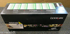 Lexmark 15G042Y YELLOW HI YIELD TONER FOR C752/C762/X752/X762 ORIGINAL/SEALED