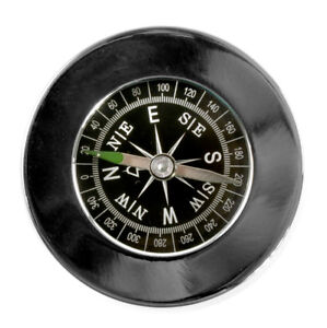 Compass-Chrome-Paperweight