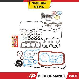 Fits-Re-Ring-Kit-Gasket-Bearings-Rings-Toyota-2-2-5SFE-90-96