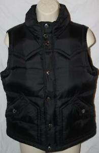 Women's Vest True Størrelse Levering Medium Down Sort Religion Gratis p5awxqfAF