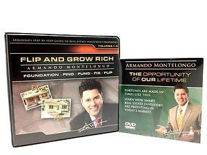 Armando-Montelongo-Flip-And-Grow-Rich-Foundation-Find-Fund-Fix-Flip-Audio-CD-DVD