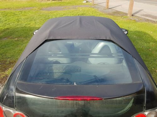 drive with it in place Smart Roadster coupe 452 all weather roof rain cover