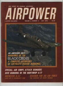 Airpower Mag Markings Of The Black Cross Luftwaffe Fighter July 1972 081720nonr