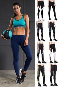 Mujeres-Leggings-de-compresion-Fitness-Workout-Gym-Correr-Termico-Capa-Base-Sport