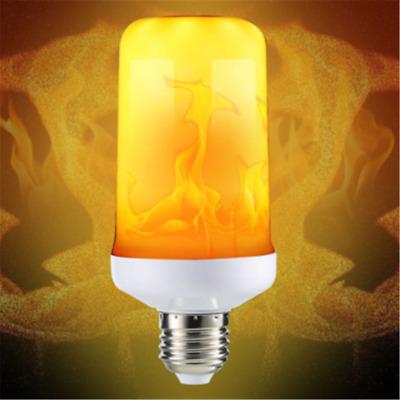 4Modes LED Flicker Flame Light Bulb E27 Simulated Burn Fire Effect Xmas Festival