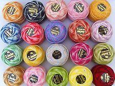 20 ANCHOR Variegato Perle Cotone Gomitoli Dimensione 8,20 Splendidi colori