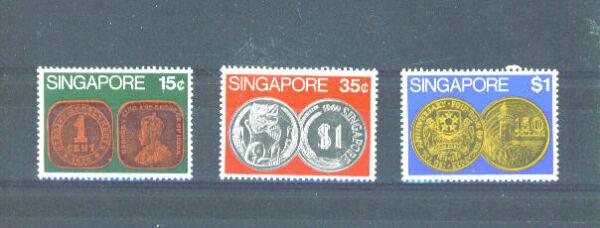 Belle Singapour - 1972 Pièces Charnière Comme Neuf Le Prix Reste Stable