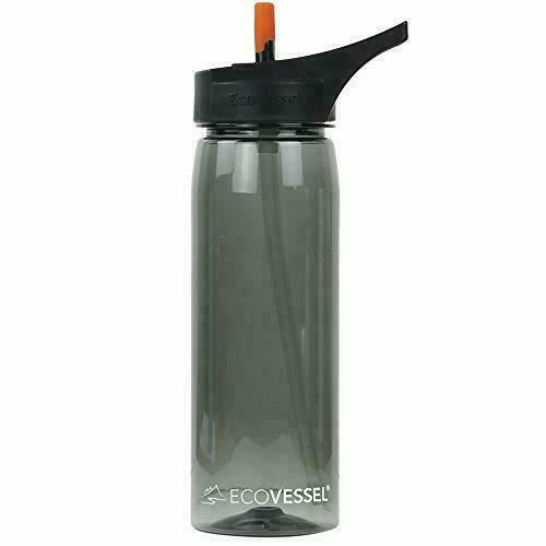Includes water filter straw Propur Water Bottle