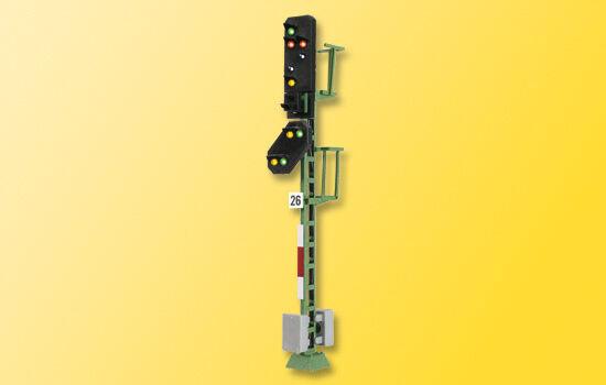 Viessmann 4726 h0 licht ausfahrsignal mit vorsignal und multiplex - technologie