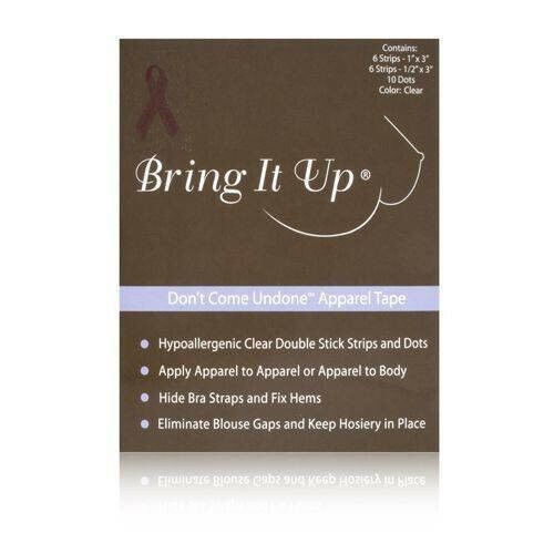 Bring It Up Don/'t Come Undone Apparel Tape