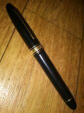 Beautiful Vintage Oman Extra Fountain Pen 18K Gold Nib & Trim!