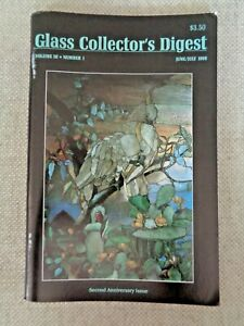 Glass-Collector-039-s-Digest-1989-Tiffany-Vases-Marbles-Swankyswigs-Fostoria-Coin