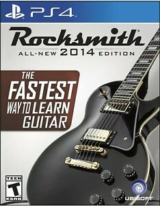 Rocksmith-2014-Edition-Sony-PlayStation-4-2014-Game-amp-Real-Tone-Cable-NEW