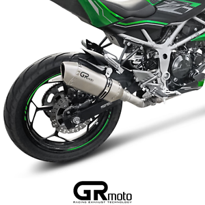 Exhaust for Kawasaki NINJA Z 125 2019 on GRmoto Titanium