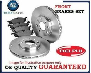 FOR MERCEDES E CLASS E280 2005-2009 FRONT BRAKE DISCS SET + DISC PADS KIT + WIRE