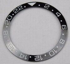 BLACK CERAMIC BEZEL INSERT FOR 40MM ROLEX GMT MASTER II 116710 BLNR - UK STOCK