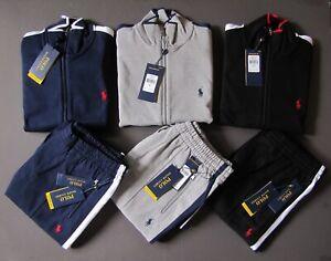 Polo-Ralph-Lauren-Men-Size-S-Tracksuit-Sweat-Track-Pants-Jacket-Sweat-Suit-NEW