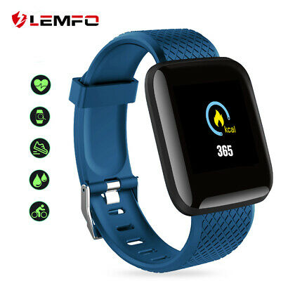 LEMFO Sports Smart Watch Band Heart Rate Blood Pressure Fitness Tracker Bracelet