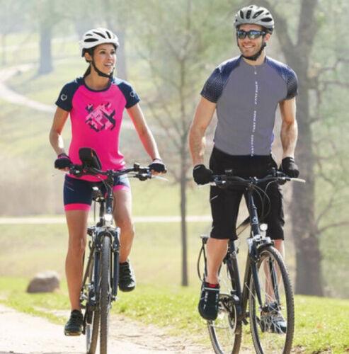 Brand New Crivit Men/'s Fingerless Cycling Gloves Gel Various Colours /& Sizes