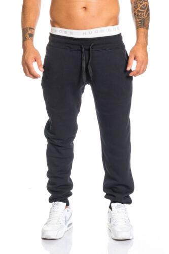 Herren trainingshose jogginghose sporthose fitness hose schwarz grau blau LL201C