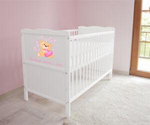 Babybett-Kinderbett-Juniorbett-umbaubar-3x1-Matratze-120x60-Weiss-nr-26-a