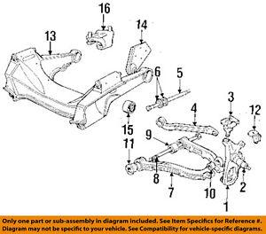 jaguar oem 88 97 xj6 front lower control arm bushing cac75851 ebay rh ebay com jaguar xj suspension parts jaguar xj suspension diagram