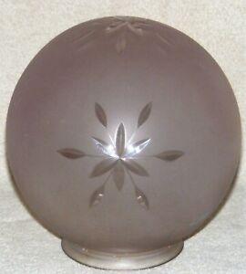 Antique-Sun-Purple-Cut-Star-Glass-Lamp-Shade