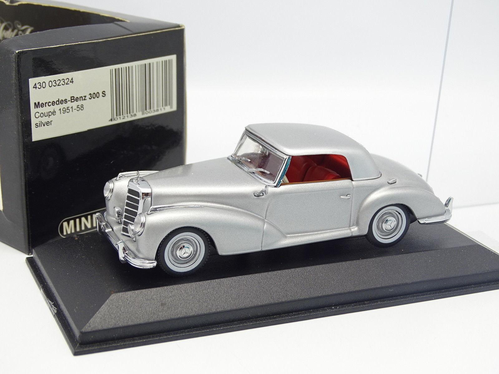 Minichamps 1 43 - Mercedes 300 S Coupé 1951 silver