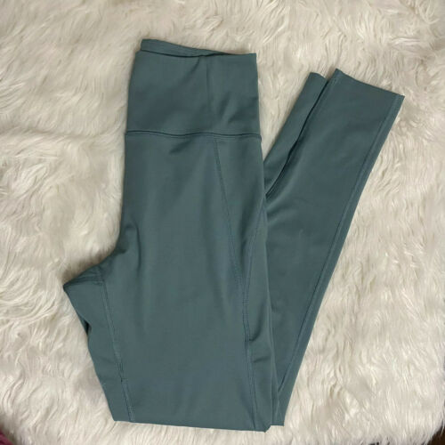 Girlfriend Collective High Rise Leggings In JADE.