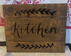 Farmhouse Kitchen Wall Decor 690789400902 Ebay
