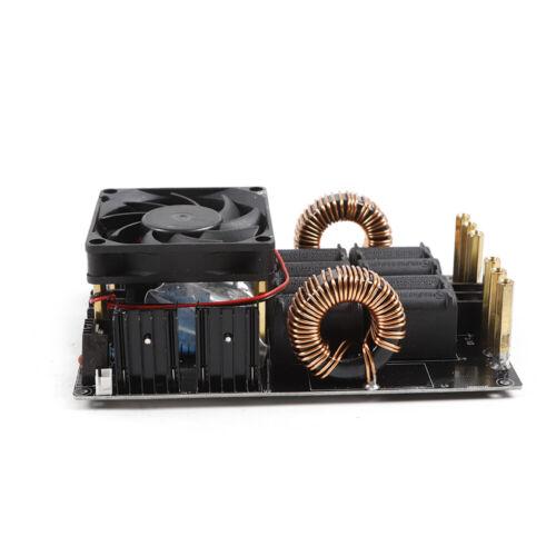 Fan Cooling us 50A 1000W ZVS Low voltage induction heating board module heater