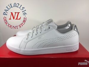 94120f875010 Puma Smash Women s Perf Met ~ White ~ Various Sizes  Condition ...