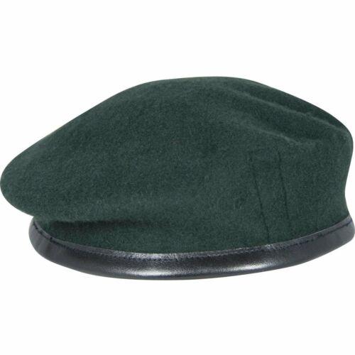 Fusil vert petite couronne en soie doublée 100/% Beret